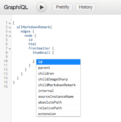 graphql image query